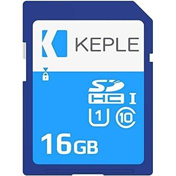 Keple 16GB Tarjeta de Memoria SD Card | SD Memory Card Compatible con Canon EOS 70D, 6D, 100D, 600D, 1100D, 1200D, 60D, 550D, EOS 700D DSLR Camara | ...