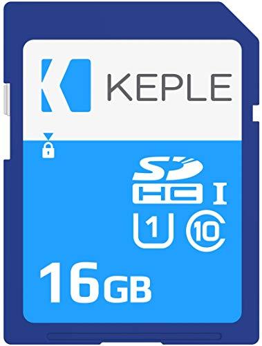 16GB SD Speicherkarte | SD Karte Kompatibel mit Panasonic Lumix DMC-FZ200, DMC-FT30, DMC-FT6, DMC-FZ300, DMC-F5, DMC-FH10, DMC-FT5 DSLR Digitalkamera Kamera | 16 GB UHS-1 U1 Class 10 SDHC