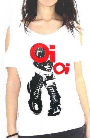 johnny-deers-shirt-femme-oi-oi-chaussures-danser-pieds-1011-ggg57-blanc-xxl
