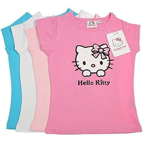 Hello Kitty - Camiseta de manga corta - para niña