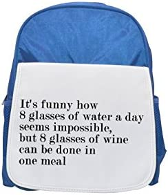 Quote about jokes of drink printed kid's Bleu    backpack, Cute backpacks, cute small backpacks, cute Noir  backpack, cool Noir  backpack, fashion backpacks, large fashion backpacks, Noir  fashion backpa   Ingénieux Et Pratique  740a61