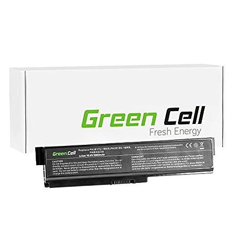 Green Cell® Extended Serie PA3817U-1BRS PA3634U-1BRS Laptop Akku für Toshiba Satellite C650 C655 C660 C660D L650 L650D L655 L675 L750 (12 Zellen 8800mAh 10.8V