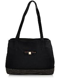 Mark & Keith Women Black Handbag (MBG 0414 BK)