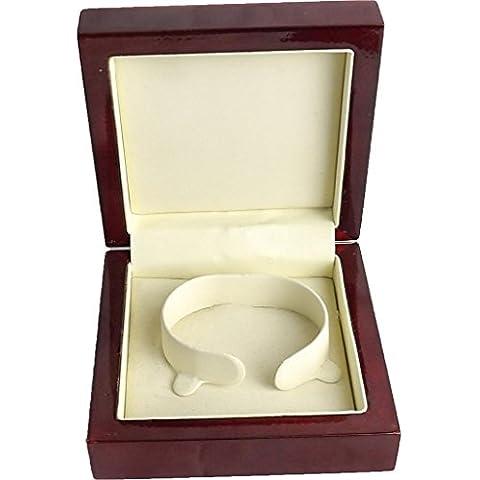 BRAND NEW HIGH QUALITY WOODEN BANGLE BOX JEWELLERY RING BRACELET BANGLE EARRING SET BOX