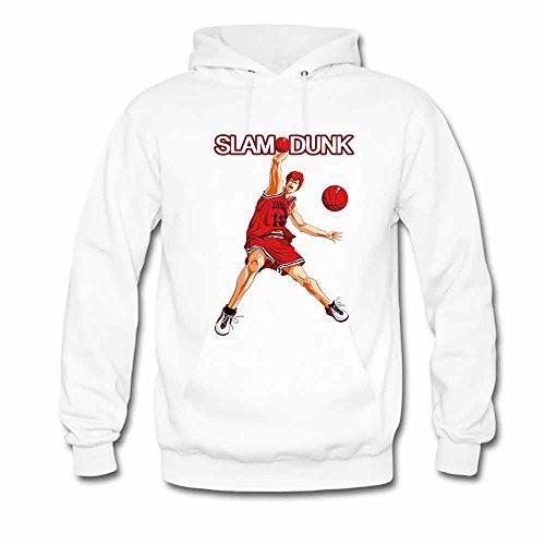 SLAM DUNK -Handsome basketball master Sakuragi Hanamichi Hoodie for men-3XL