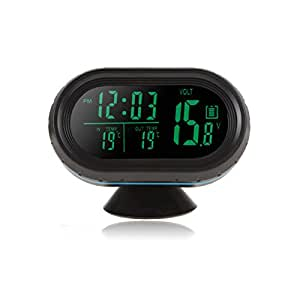 Goliton horloge lectronique de voiture thermom tre de for Thermometre exterieur voiture