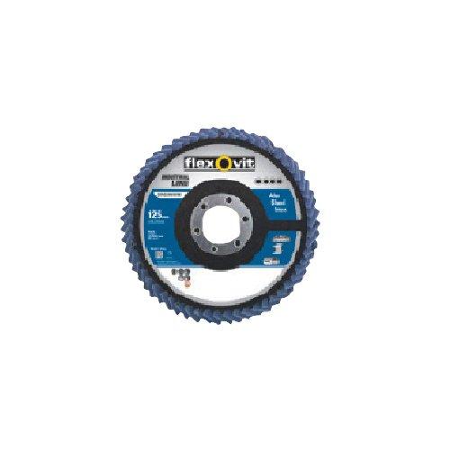 FLEXOVIT Flapper Discs P80115mm x 22mm Multi benutzen Langlebig Hochwertig - Flapper-disc