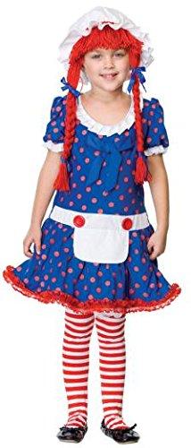 Leg Avenue 181130 Rag Doll Child - Leg Avenue Rag Doll Kostüm