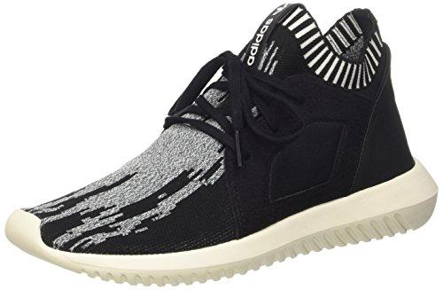adidas Tubular Defiant Primeknit W Black Black White 40.5