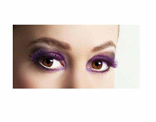 Faux cils Basic - Violet - Taille unique