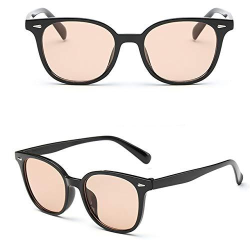 GNLLYOPWeinlese-Quadratische Rahmen-Sonnenbrille-Frauen-Designer-Marken-Süßigkeits-Farbsonnenbrille, Die Oculos des Boden-Uv400 Fährt