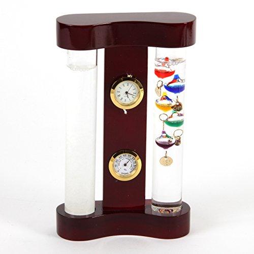 Monitor Tiempo Termómetro Galileo & Storm cristal