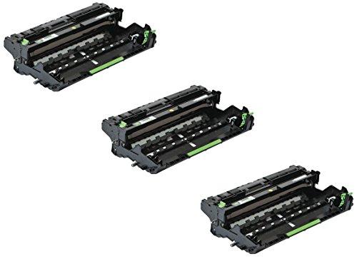 Preisvergleich Produktbild 3x Trommeleinheit kompatibel für Brother DR3400 DCP-L5500DN, DCP-L6600DW, HL-L5000D, HL-L5100DN, HL-L5100DNT, HL-L5100DNTT, HL-L5200DW, HL-L5200DWT, HL-L6250DN, HL-L6300DW, HL-L6300DWT, HL-L6400DW, HL-L6400DWT, HL-L6400DWTT, MFC-L5700DN, MFC-L5750DW, MFC-L6800DW, MFC-L6800DWT, MFC-L6900DW, MFC-L6900DWT