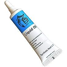 TOPmountain Carrete de Pesca Rodamiento de Metal Aceite lubricante/Grasa- Aplicación Aceite de Carrete