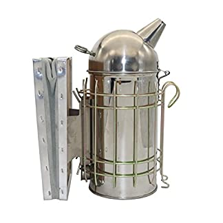 Adhere To Fly Bee Hive Smoker Stainless Steel Beekeeping Tool 41rLnCswjxL