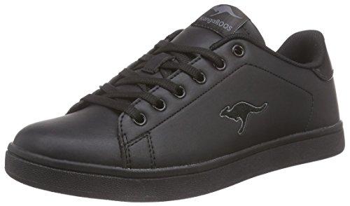 KangaROOS K-class-x Kids Lace Unisex-Kinder Low-Top Schwarz (black 500) s75ozSJyY