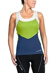 VAUDE Mujer Camiseta de tirantes Advanced SL II para ciclismo, mujer, color pistachio, tamaño medium