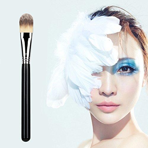 Domybest 7 pcs multifonction Lot de brosse de maquillage Blush Fond de teint poudre visage Brosse