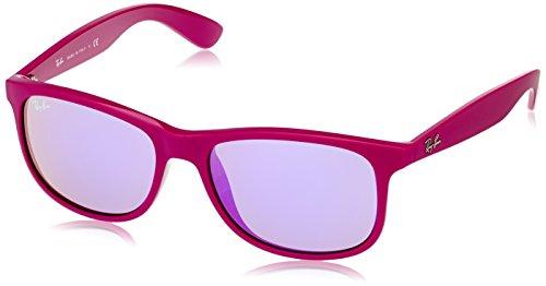 Ray-Ban Gafas de sol Wayfarer Andy RB4202, Purple (60714V - Italy In Ray-ban-brillen-made