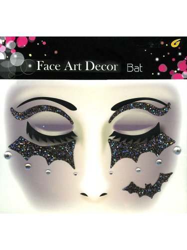 Face Art Decor Glitzer Halloween (Halloween Zeug)