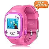 WitTorch Smart Watch Kids, Touch Screen Childrens Smart Watch GPS Tracker Watch Phone