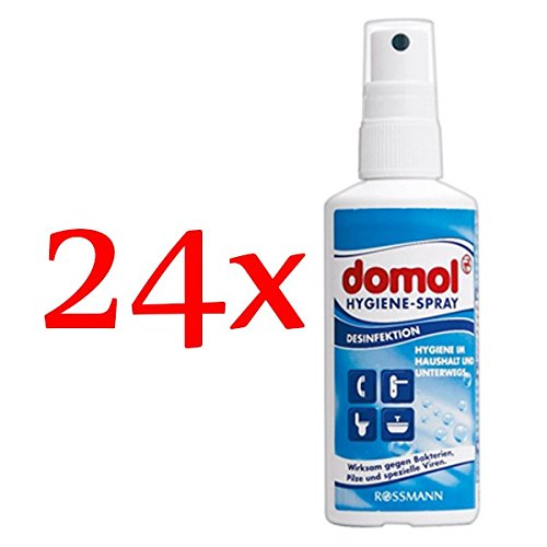 domol Hygiene-Spray, 24er Pack (24 x 100 ml)