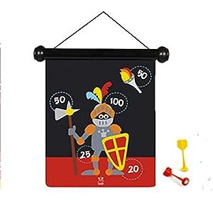 Scratch Rasguño - Dardos magnéticos Juego Knight - Multicolor