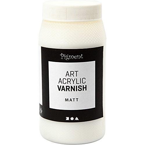 Vernice protettiva acrilica, bianco, trasparente opaco, semilucido, 500ml