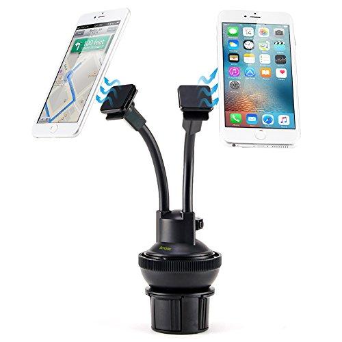 iKross–Soporte dual para teléfono para colocar en el salpicadero del coche o...