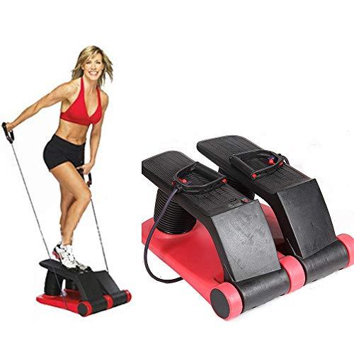 DSAEFG Luft-Stepper, Übungs-Fitness-Schenkel-Maschine für Haupttrainings-Turnhallen-Hauptfitness-Geräte, Sport-Körper, der Ofenrohr-Werkzeuge formt -