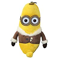 Cattivissimo Me 2 - Minions Figure di Peluche con Gli Occhi 3D - Banana 30cmPeluche personaggi tra cui scegliere:- Bob - Altezza: 30.0 cmo- Stuart - Altezza: 33.0 cmMateriale: 100% PoliestereCaratteristiche: morbido peluche e peluche, materia...