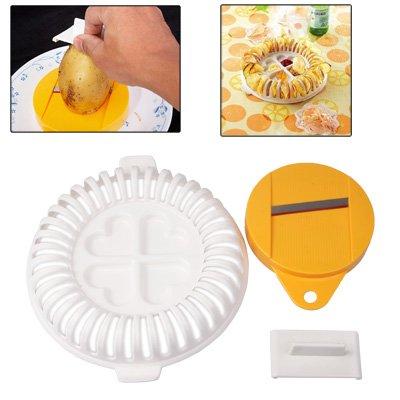 Kitchen Accessories Hochwertige DIY Mikrowelle gebackene Kartoffelchips hausgemachte Maker Maschine Gerät mit Slicer & Platte Kitchen Accessories -