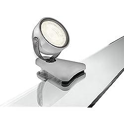 Philips myLiving Dyna - Foco LED con pinza, iluminación interior, LED integrado