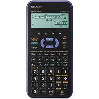 Sharp EL-W531XHVL - Calculadora (bolsillo, Científico, Negro, Violeta, Botones, 96 x 32 Pixeles, Dot-matrix)
