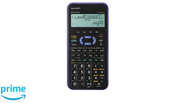 sharp writeview. sharp el-w531 xh-vl scientific calculator writeview display metallic purple with battery 335 functions for grammar/secondary school: amazon.co.uk: office writeview l