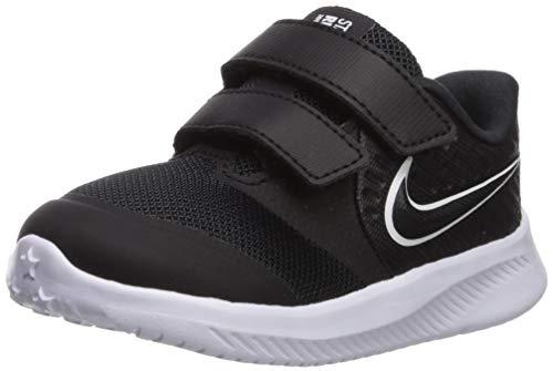 Nike Unisex Baby Star Runner 2 (TDV) Sneaker, Schwarz (Black/White-Black-Volt 001), 27 EU