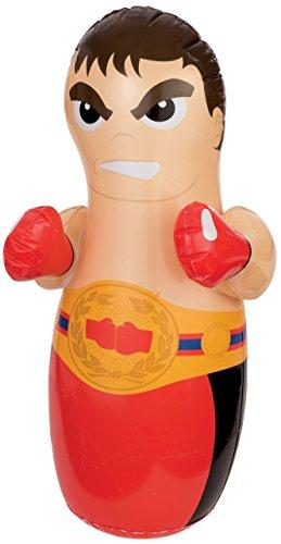 Preisvergleich Produktbild Intex Kinder Aufblasbarer Wrestler 3D Boxing Boxsack Innen Außen Spiel