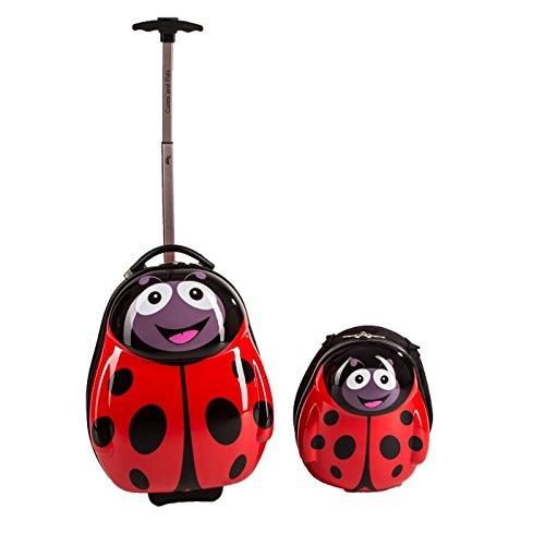 Cuties and Pals maletas infantiles, mochilas infantiles, ninos, viajar, trolley (maletas y mochias, mariquita)