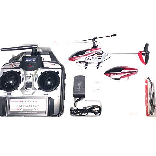 ONOGAL Helicóptero RC V9120 4CH 2.4GHZ Drone skydancer RTF 4CH con bateria lipo y Cargador USB y de Pared