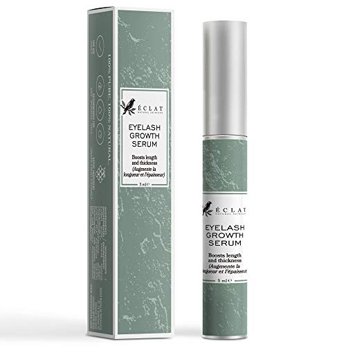 89cc762a701 Eclat Eyelash Growth Serum - Eye Lash Growth Serum with Power Peptides and  Natural Grape Extract