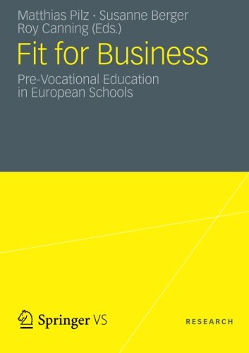 Fit for Business: Pre-Vocational Education in European Schools