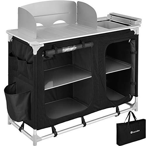TecTake 800747 Outdoor Camping Küche - Diverse Modelle wähblar - (Typ 2 | Nr. 403345)