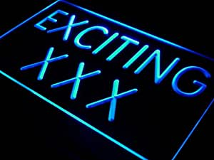 Enseigne Lumineuse j439--b Exciting XXX DVD VCD Movies Bar Neon Light Sign