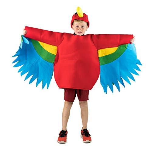 Kostüm Gruppe Fancy Dress - Bodysocks Parrot Fancy Dress Costume (Kids)