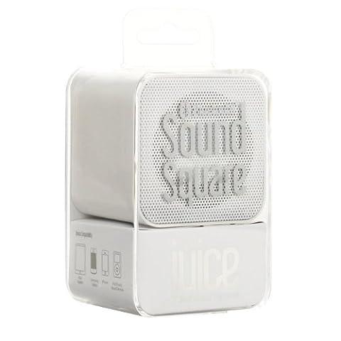 Juice 3 W 1000 mAh Sound Square Bluetooth Portable Speaker - White