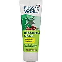 Fusswohl Hirschtalg Creme 75 ml besonders trockene & spröde Haut, Allantoin & Mandelöl, ÖKO-TEST Sehr Gut preisvergleich bei billige-tabletten.eu