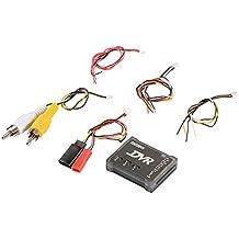 XCSOURCE DVR Mini Enregistreur Audio Vidéo Format Vidéo PAL / NTSC avec Câble DIY pour FPV Drones de Course Multicoptère RC542