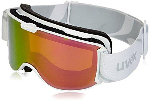 Uvex, Maschera da sci Skyper LTM, Bianco (White Mat/Ltm Pink), Taglia unica