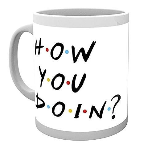 GB eye, Friends, How You Doin, Mug