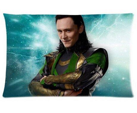 666PC Smiling Loki Pillowcases Custom Cool Comfortable Pillow Case Kissenbezüge (35cmx50cm) (Loki Kissenbezug)
